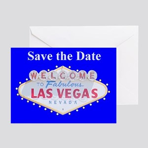Las Vegas Save the Date Traditional Sign Cards 6