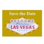 Las Vegas Save the Date Postcards 8