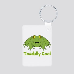Toadally Cool Aluminum Photo Keychain