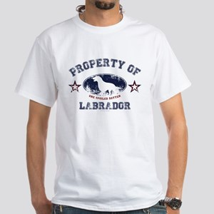 Labrador White T-Shirt