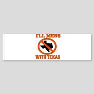 messtexaswhite Sticker (Bumper)