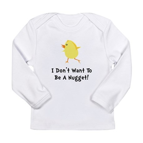 Chicken Nugget Long Sleeve Infant T-Shirt