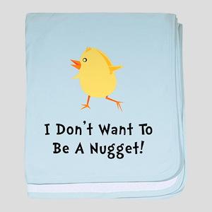 Chicken Nugget baby blanket