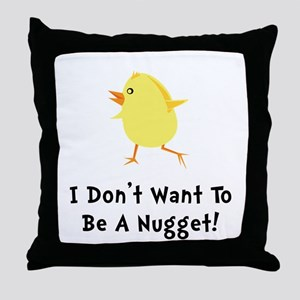 Chicken Nugget Throw Pillow