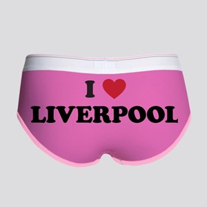 I Love Liverpool Women's Boy Brief
