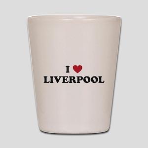 I Love Liverpool Shot Glass