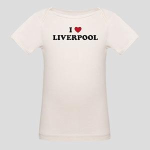 I Love Liverpool Organic Baby T-Shirt