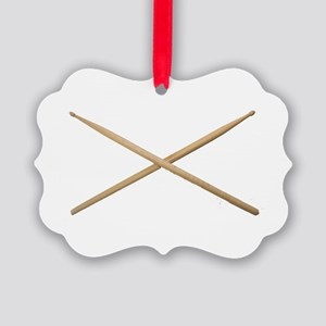 DRUMSTICKS III™ Picture Ornament