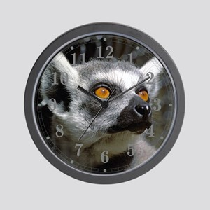 Lemur Eyes Wall Clock