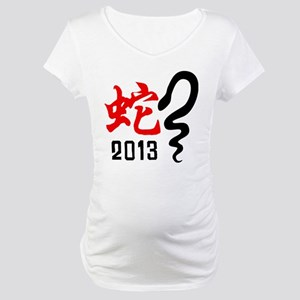Chinese New Year of The Snake 2013 Maternity T-Shi