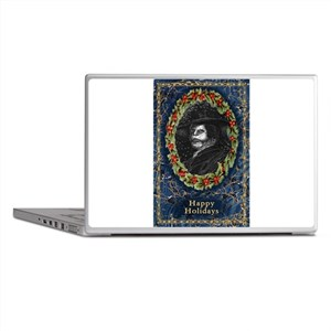Angel of the Night Blue Laptop Skins
