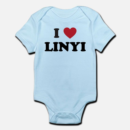 I Love Linyi Infant Bodysuit