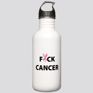 F Cancer Stainless Water Bottle 1.0L