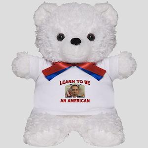 OBAMA LEARNING Teddy Bear