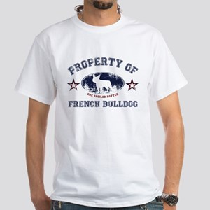 French Bulldog White T-Shirt