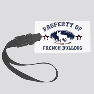 French Bulldog Large Luggage Tag