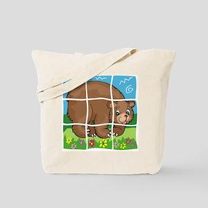 Bear Puzzle Pet Tote Bag