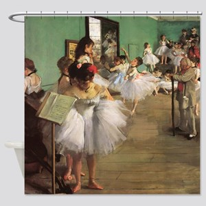 Edgar Degas Dancing Class Shower Curtain