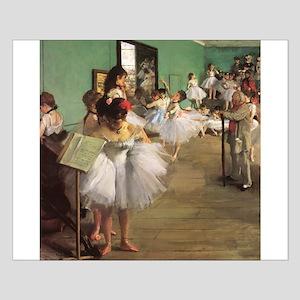 Edgar Degas Dancing Class Small Poster