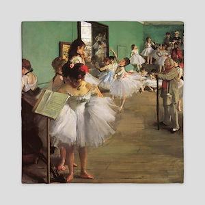 Edgar Degas Dancing Class Queen Duvet