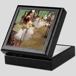 Edgar Degas Dancing Class Keepsake Box