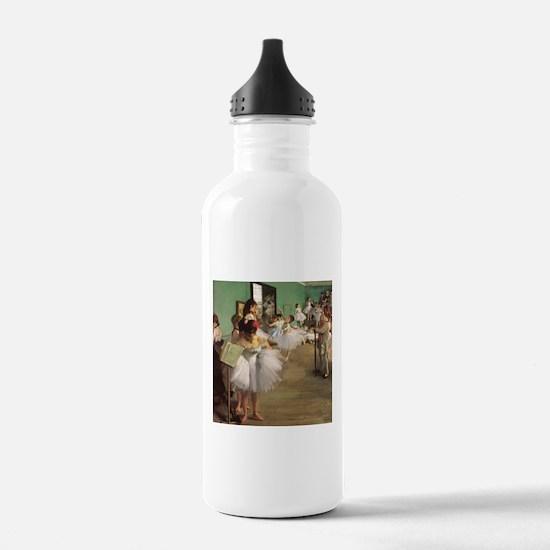 Edgar Degas Dancing Class Water Bottle