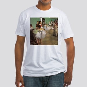 Edgar Degas Dancing Class Fitted T-Shirt