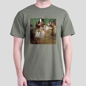 Edgar Degas Dancing Class Dark T-Shirt