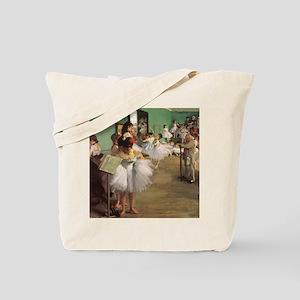 Edgar Degas Dancing Class Tote Bag