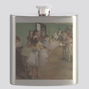 Edgar Degas Dancing Class Flask