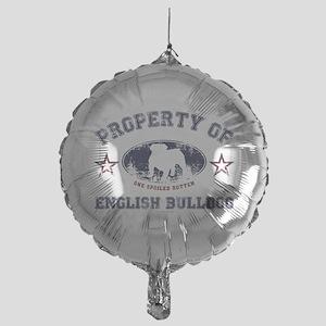 English Bulldog Mylar Balloon