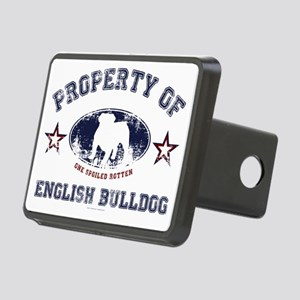 English Bulldog Rectangular Hitch Cover