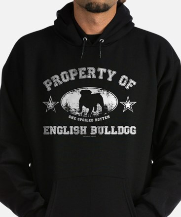 English Bulldog Hoodie (dark)