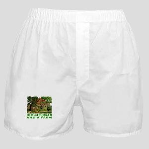 OLD MCDONALD HAD A FARM Boxer Shorts