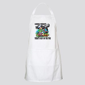 Where Theres Smoke BBQ Apron