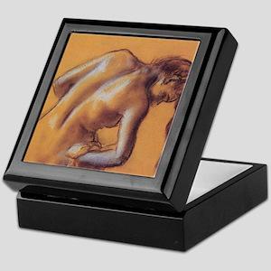 Edgar Degas Bather Drying Herself Keepsake Box