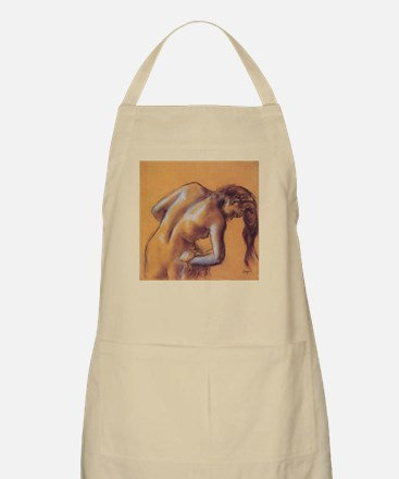 Edgar Degas Bather Drying Herself Apron