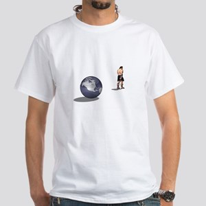 Atlas Shrugged, White T-Shirt