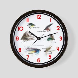 Fishing Time (clocks) Wall Clock