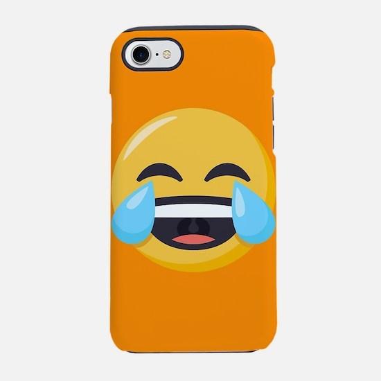 Crying Laughing Emoji iPhone 7 Tough Case