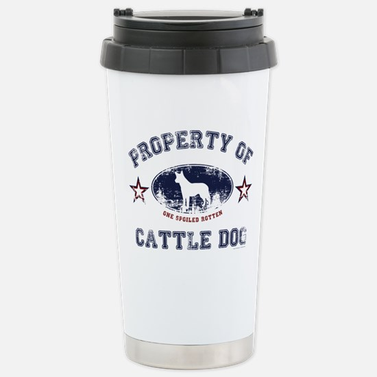Cattle Dog Stainless Steel Travel Mug