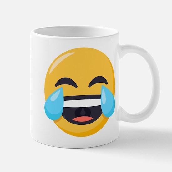 Crying Laughing Emoji Mug