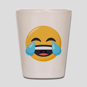 Crying Laughing Emoji Shot Glass