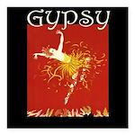 Gypsy Square Car Magnet 3