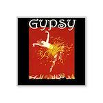 Gypsy Square Sticker 3