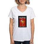 Gypsy Women's V-Neck T-Shirt