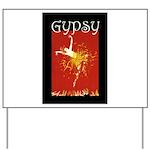 Gypsy Yard Sign