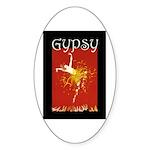Gypsy Sticker (Oval 10 pk)