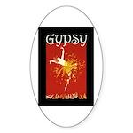 Gypsy Sticker (Oval 50 pk)