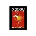 Gypsy Sticker (Rectangle 10 pk)